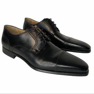 Magnanni Carlito II Black Leather Blucher